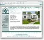 Vineyard Haven Library
